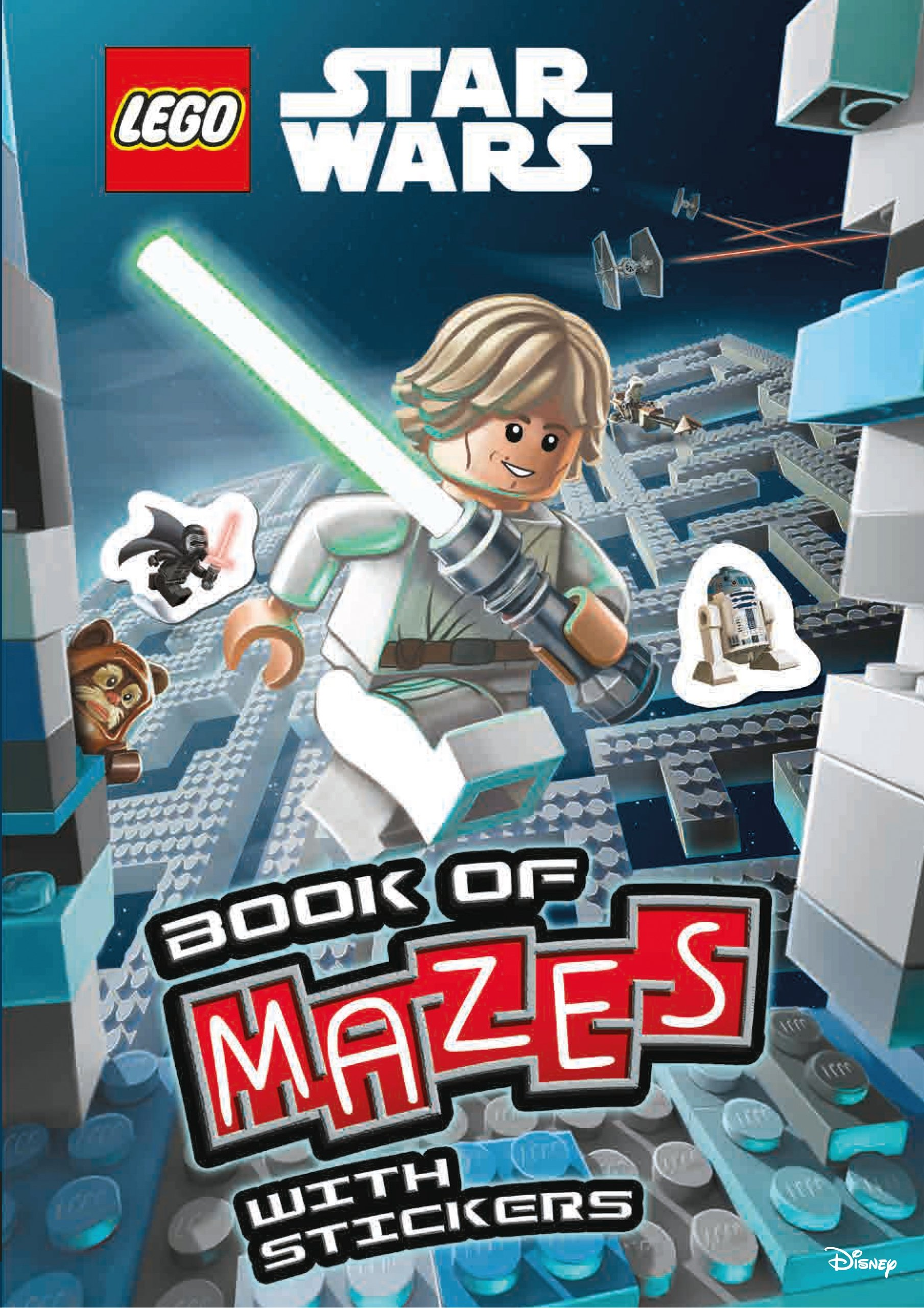 Lego Star Wars Book of Mazes