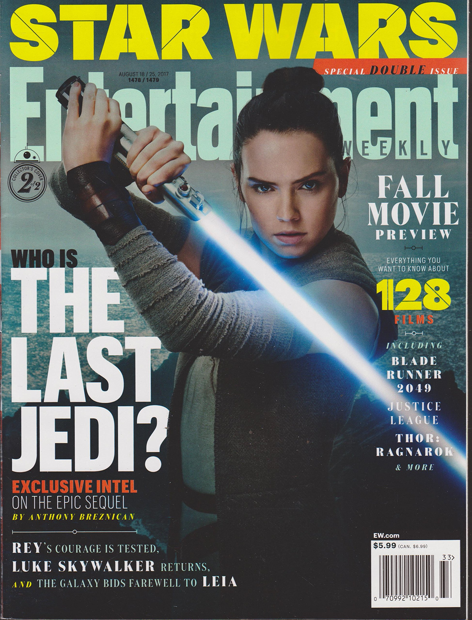 Entertainment Weekly August 18/25, 2017