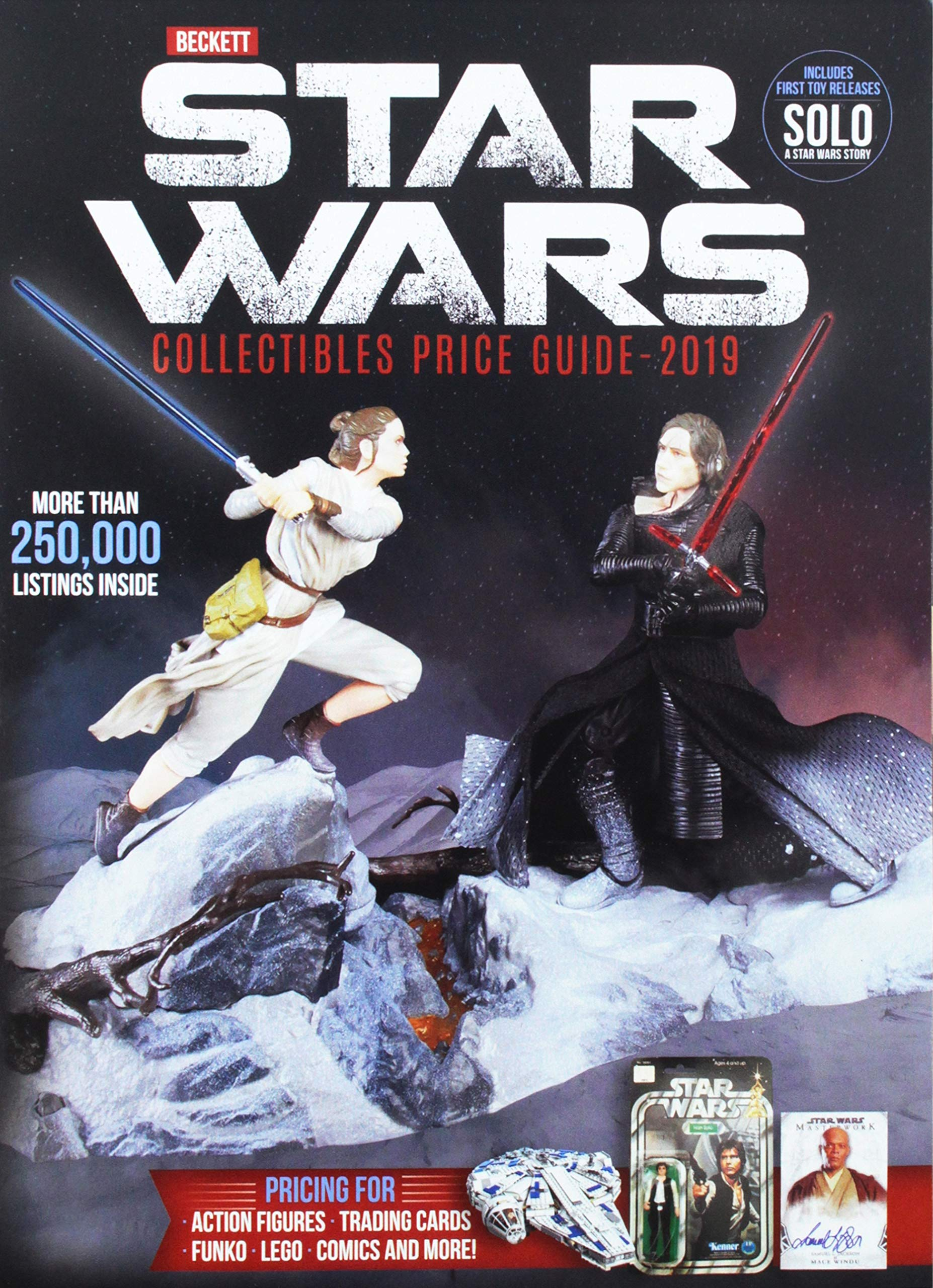 Beckett's Star Wars Collectibles Price Guide 2019