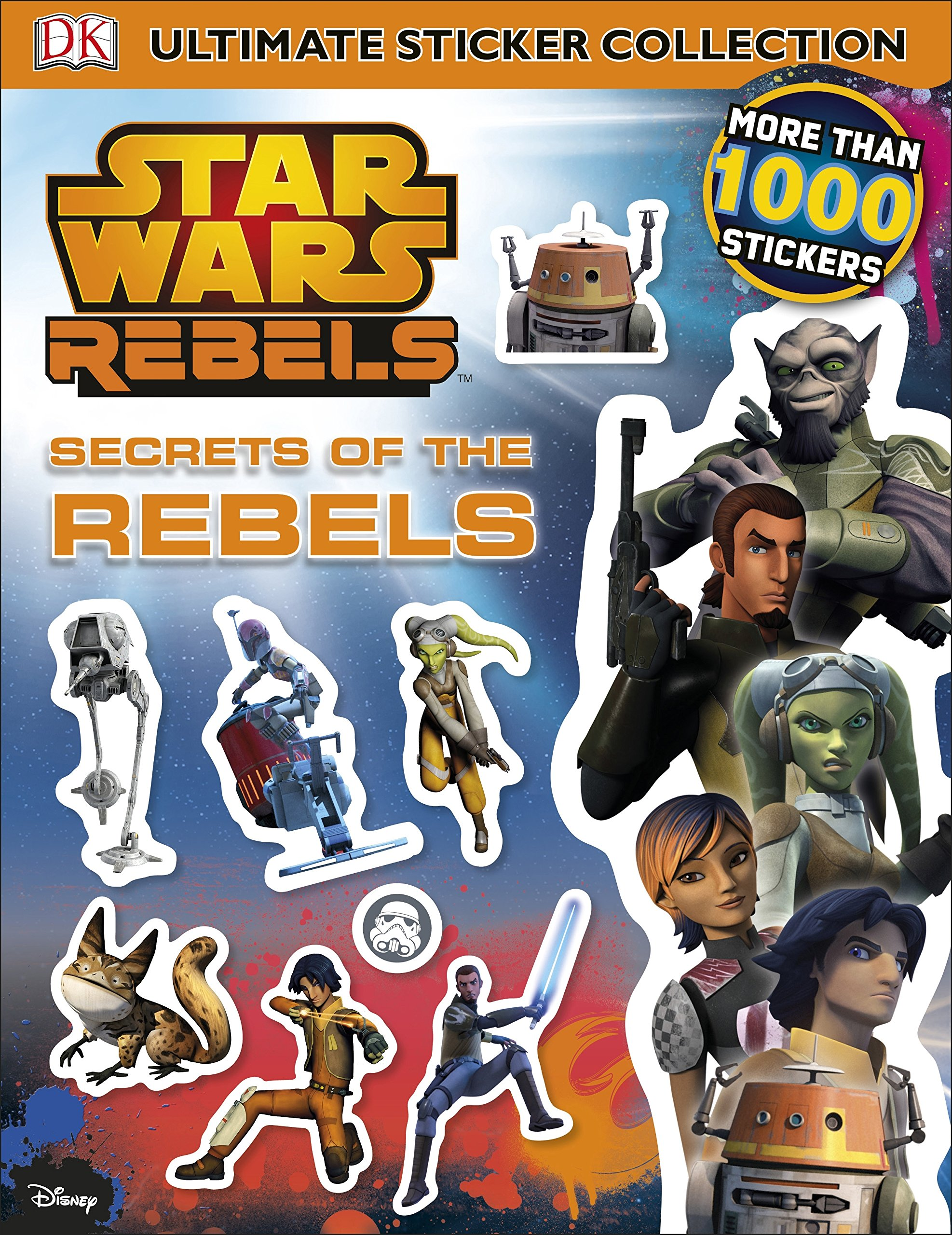 Star Wars Rebels: Secrets of the Rebels Stickerbook