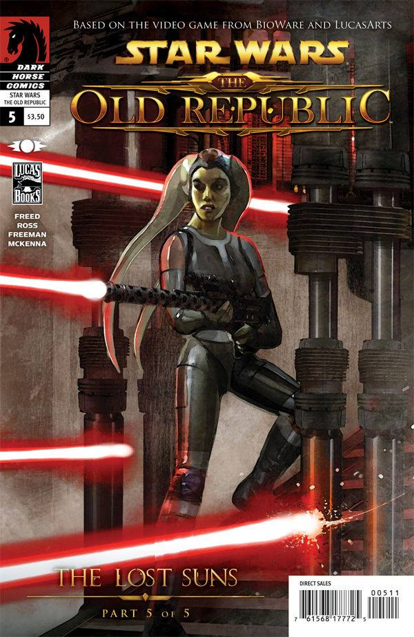 Star Wars The Old Republic: The Lost Suns 5