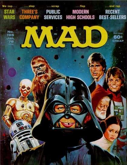 Mad Magazine 196