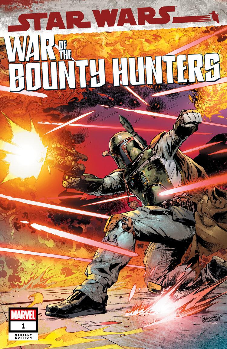 Star Wars: War of the Bounty Hunters 1 - Scorpion Comics Variant