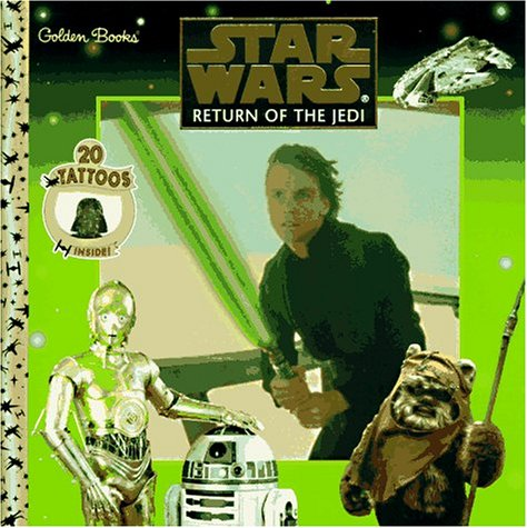 Star Wars: Return of the Jedi (Golden Book w/ Tattoos)