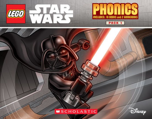 Lego Star Wars Phonics Pack 1: Includes 10 Books and 2 Workbooks