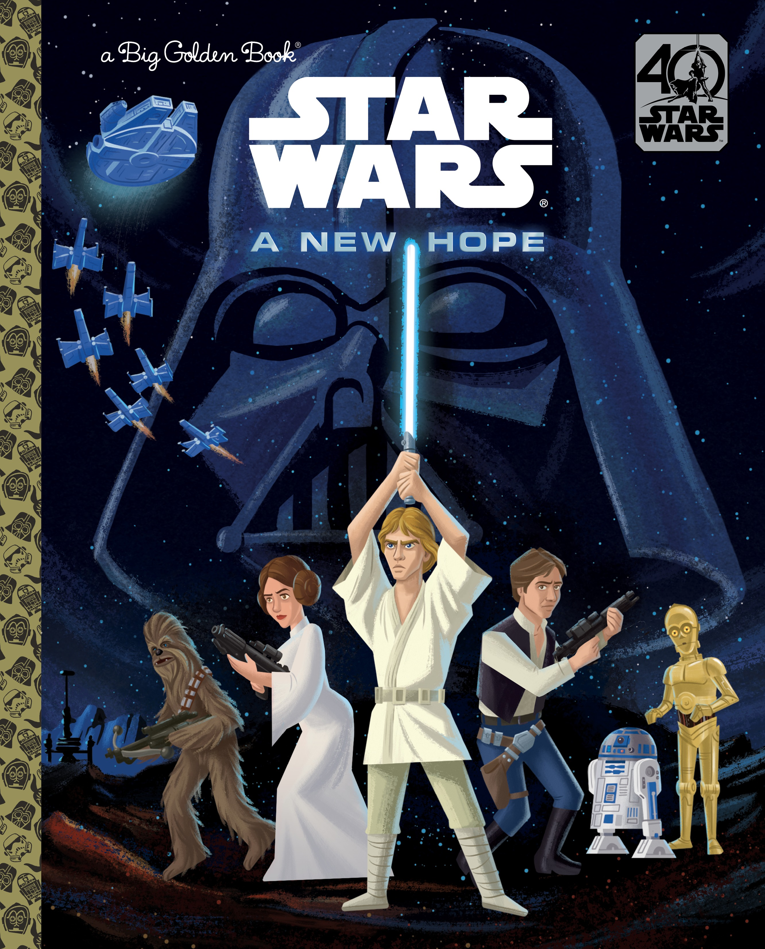 Star Wars: A New Hope - A Big Golden Book