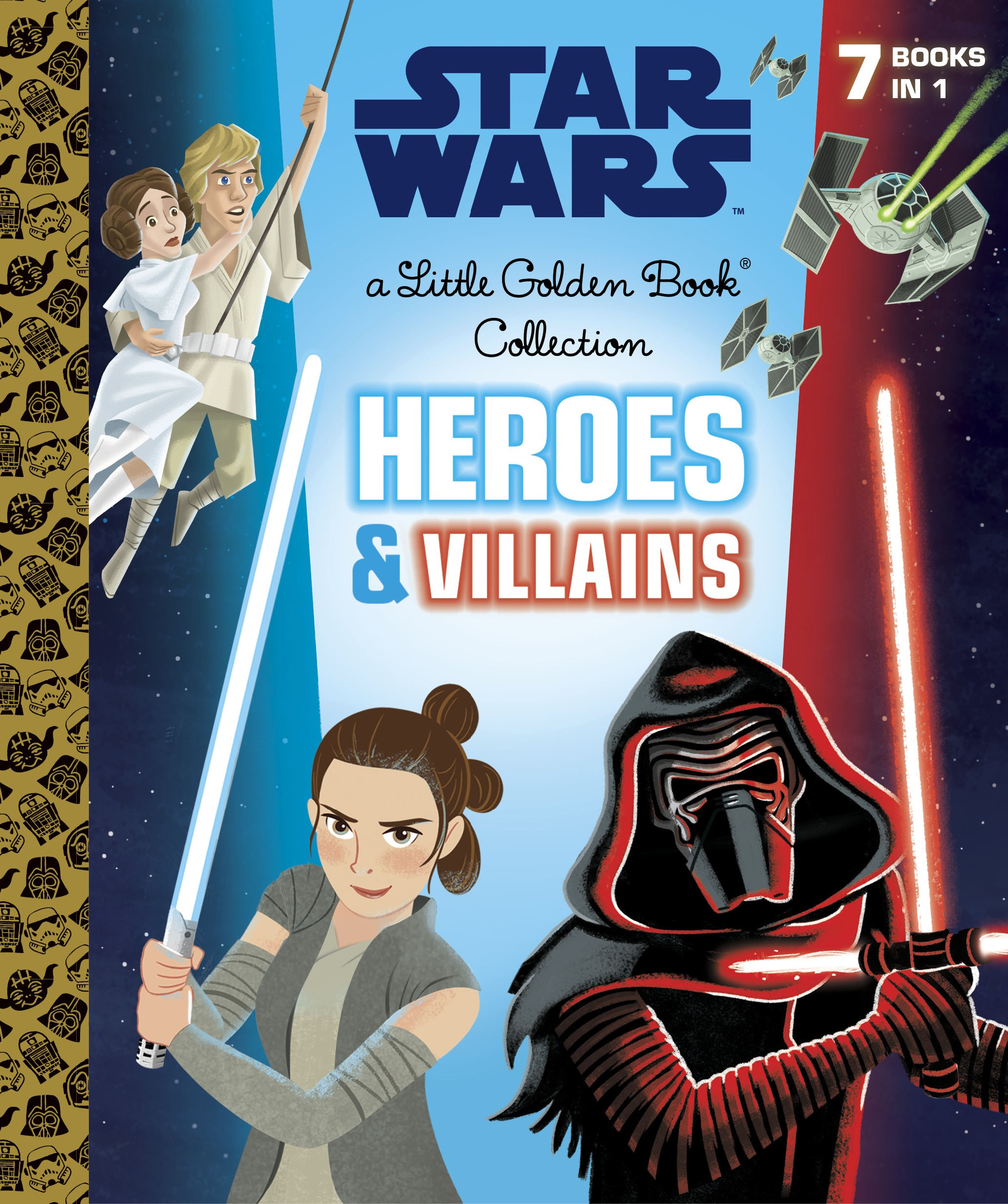 Star Wars: Heroes and Villains (Golden Book Collection)