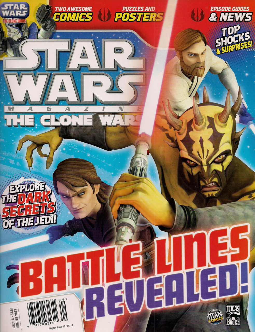 Star Wars The Clone Wars Magazine 9