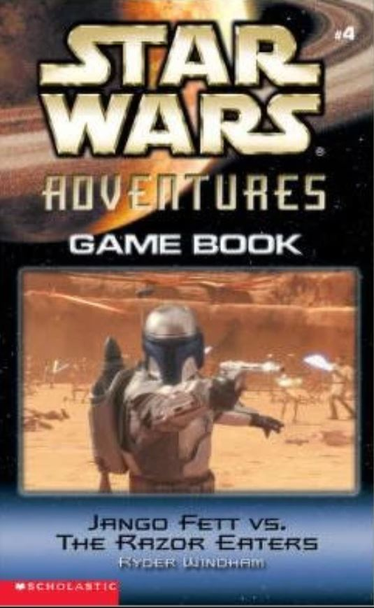 Star Wars Adventures Game Book: Jango Fett vs. the Razor Eaters