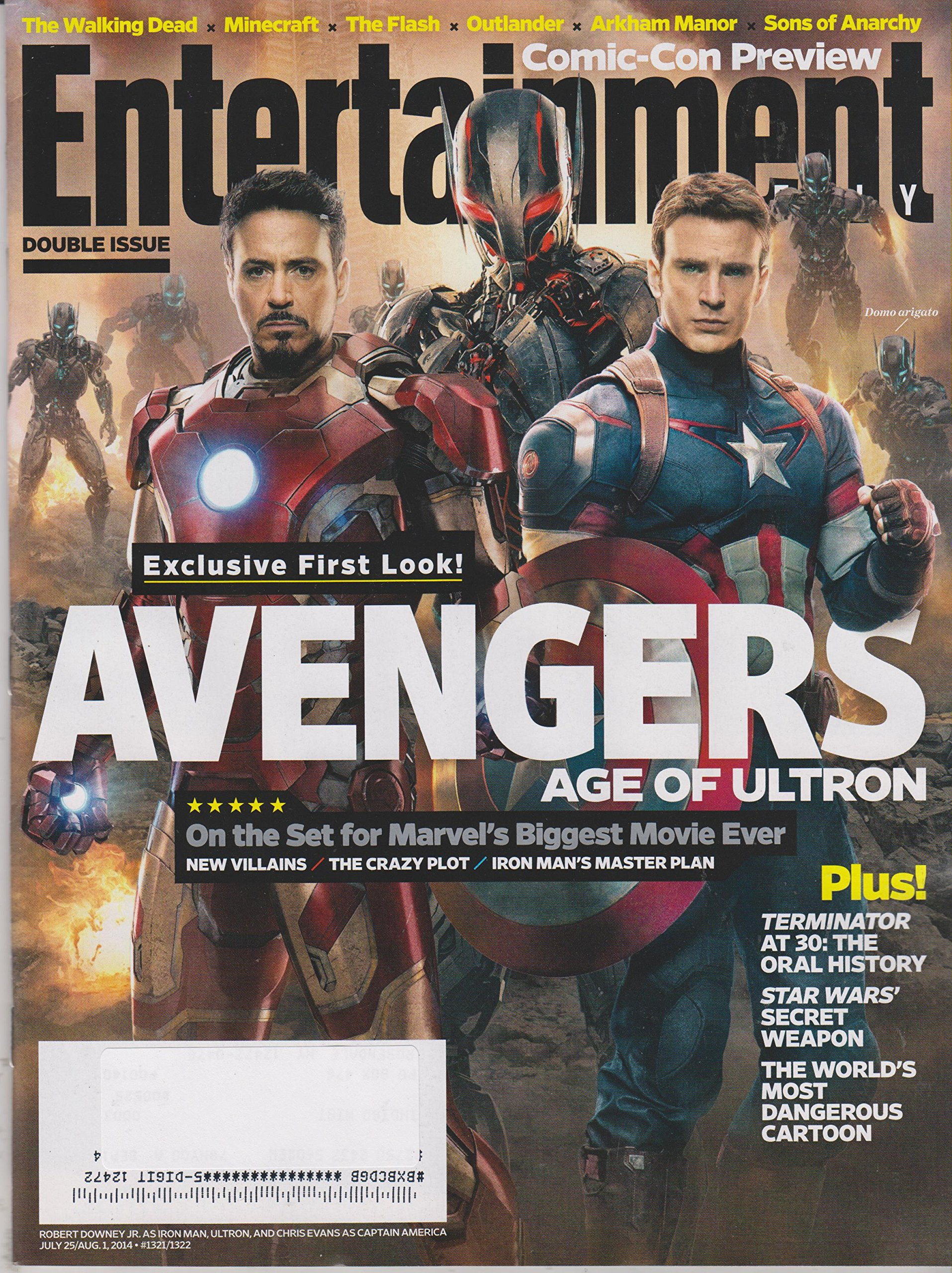 Entertainment Weekly August 1, 2014