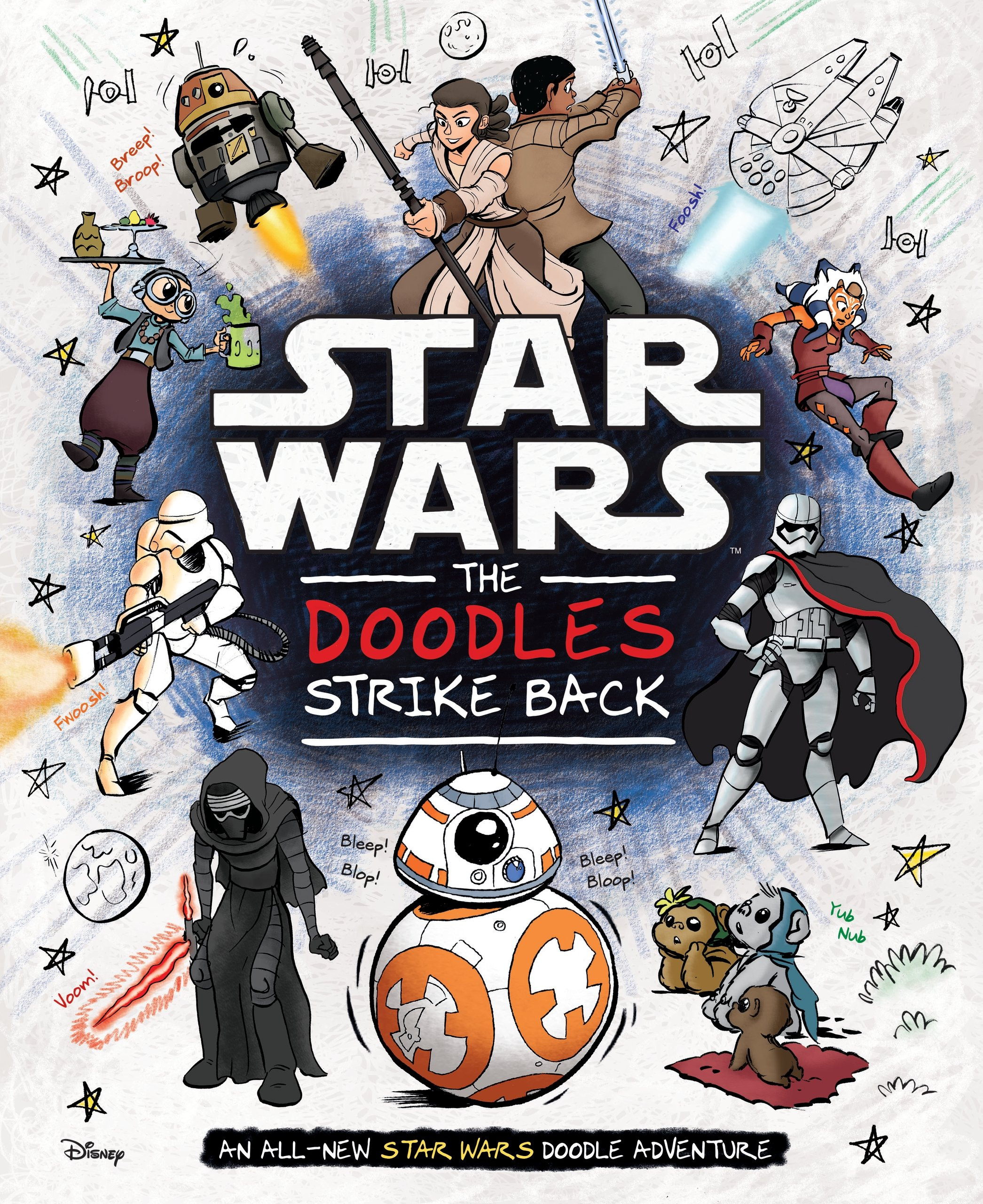 Star Wars: The Doodles Strike Back