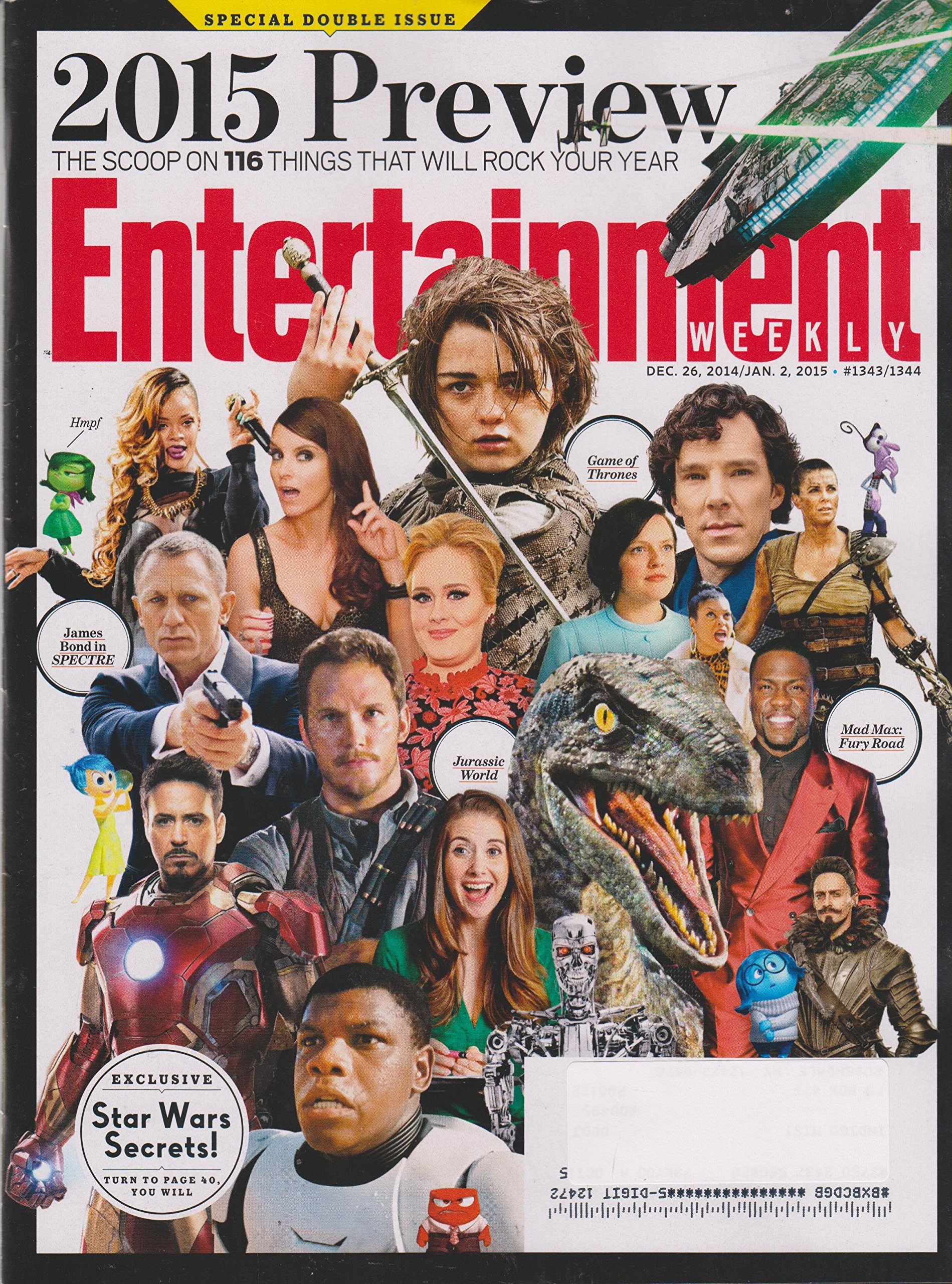 Entertainment Weekly January 2, 2015