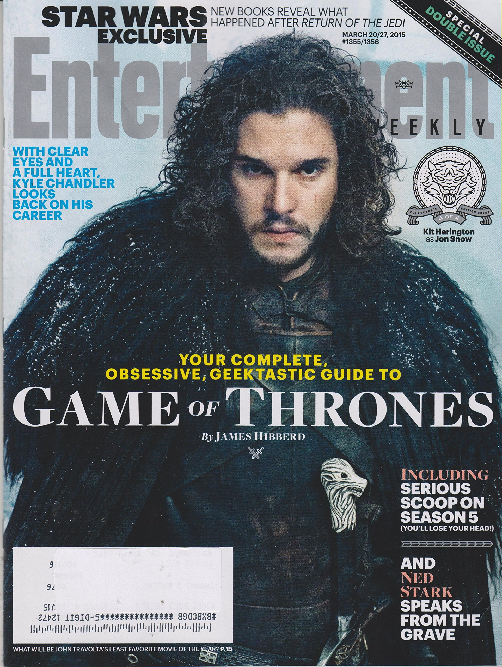 Entertainment Weekly March 27, 2015