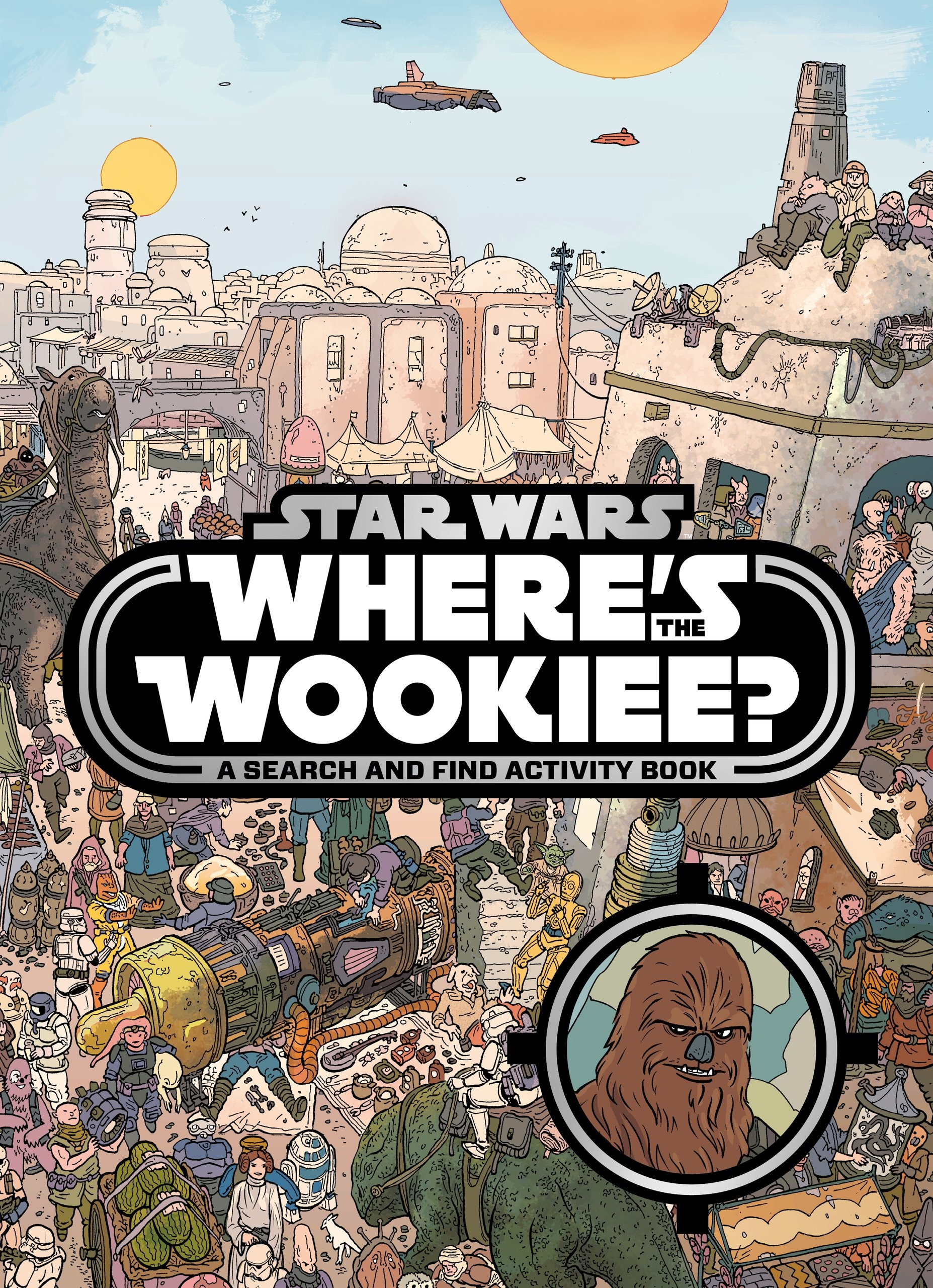 Star Wars: Where's the Wookiee (paperback)