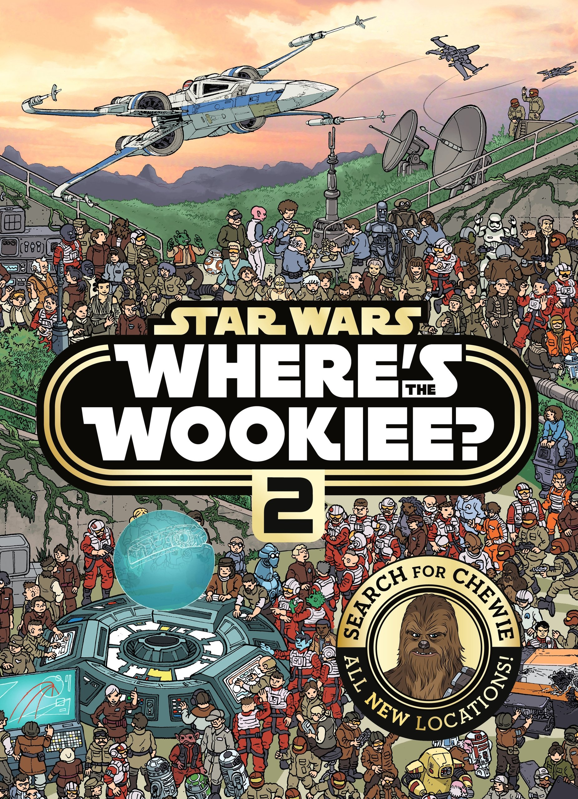 Star Wars: Where's the Wookiee 2 (paperback)