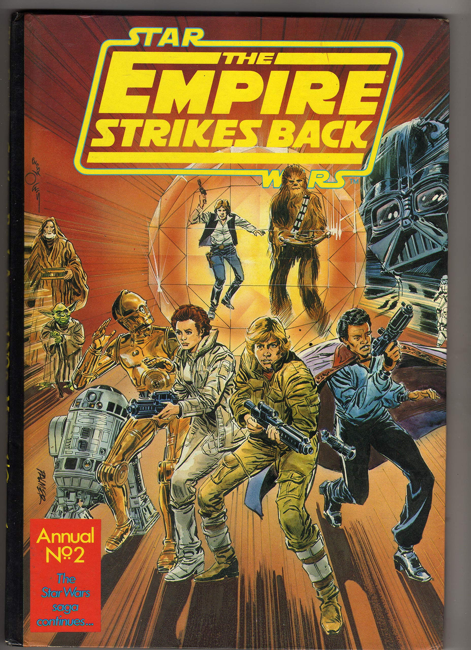 The Empire Strikes Back Annual 1981 (Marvel UK)