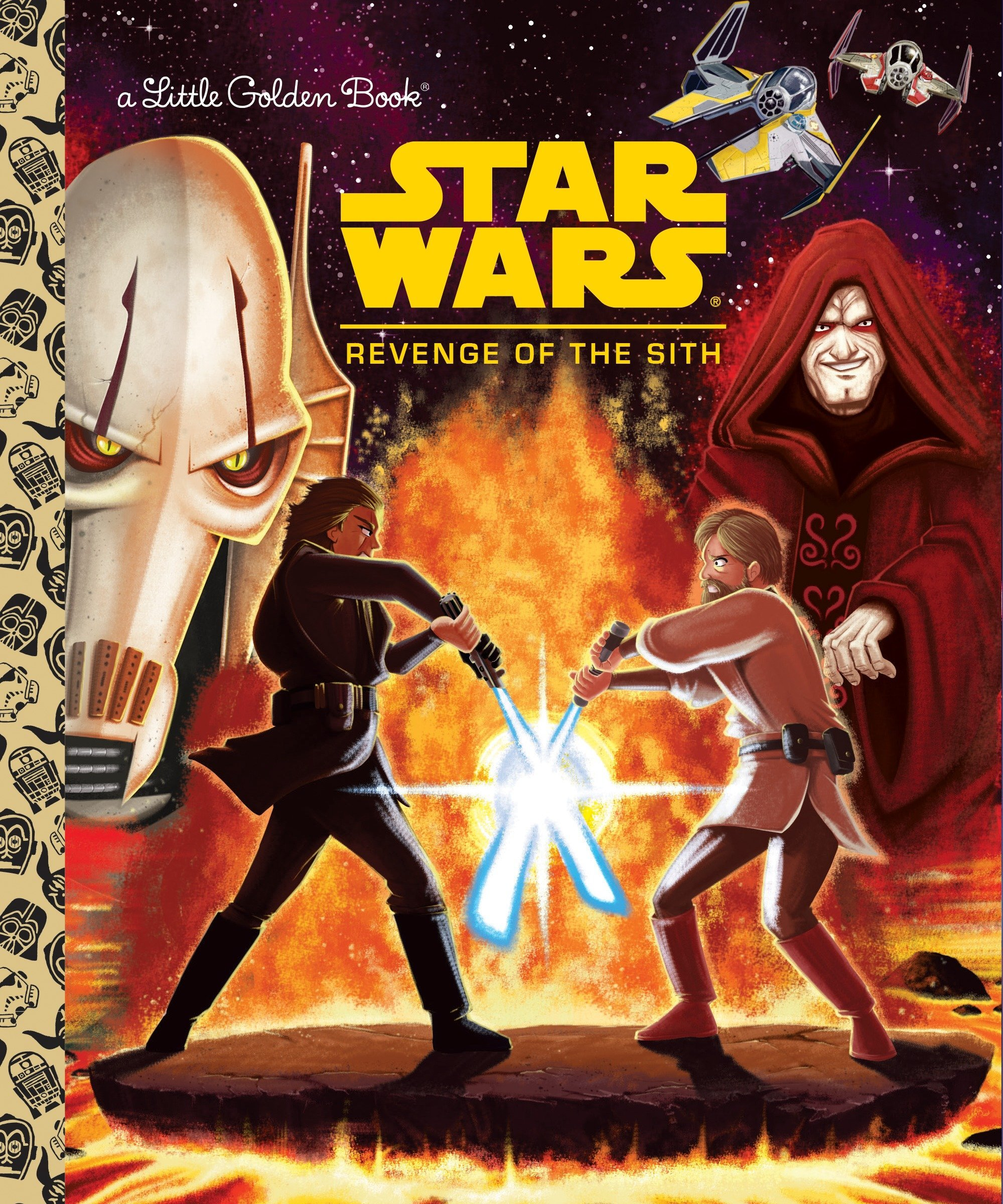 Star Wars: Revenge of the Sith  (Little Golden Book)