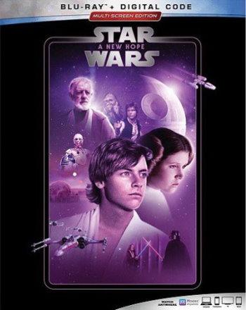 Star Wars: A New Hope (2019 Blu Ray)
