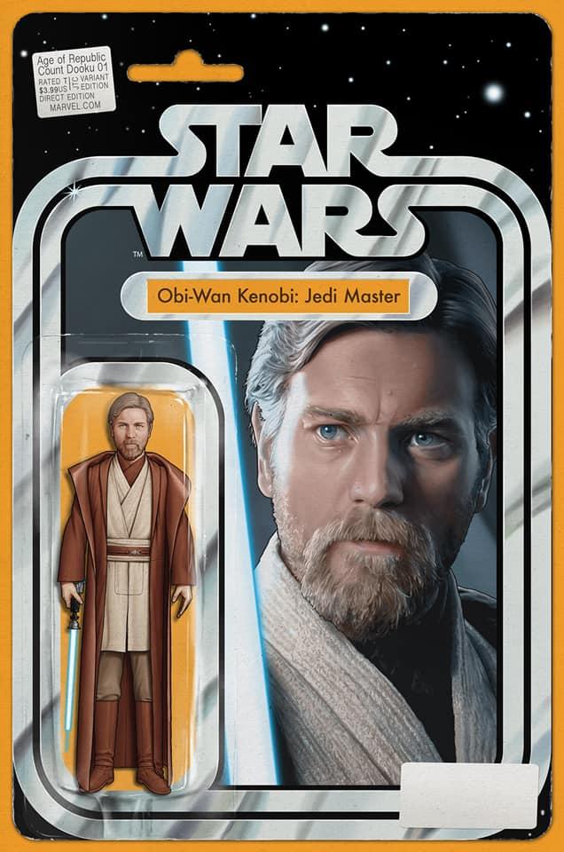 Star Wars Age of Republic: Count Dooku - Action Figure Variant (Obi-Wan Kenobi)