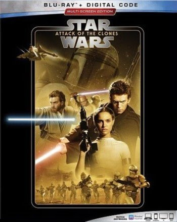 Star Wars: Attack of the Clones (2019 Blu Ray)