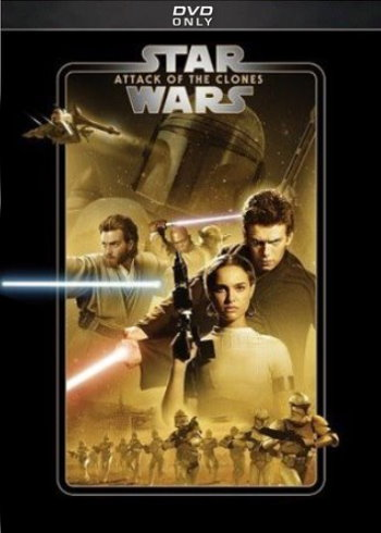 Star Wars: Attack of the Clones (2019 DVD)