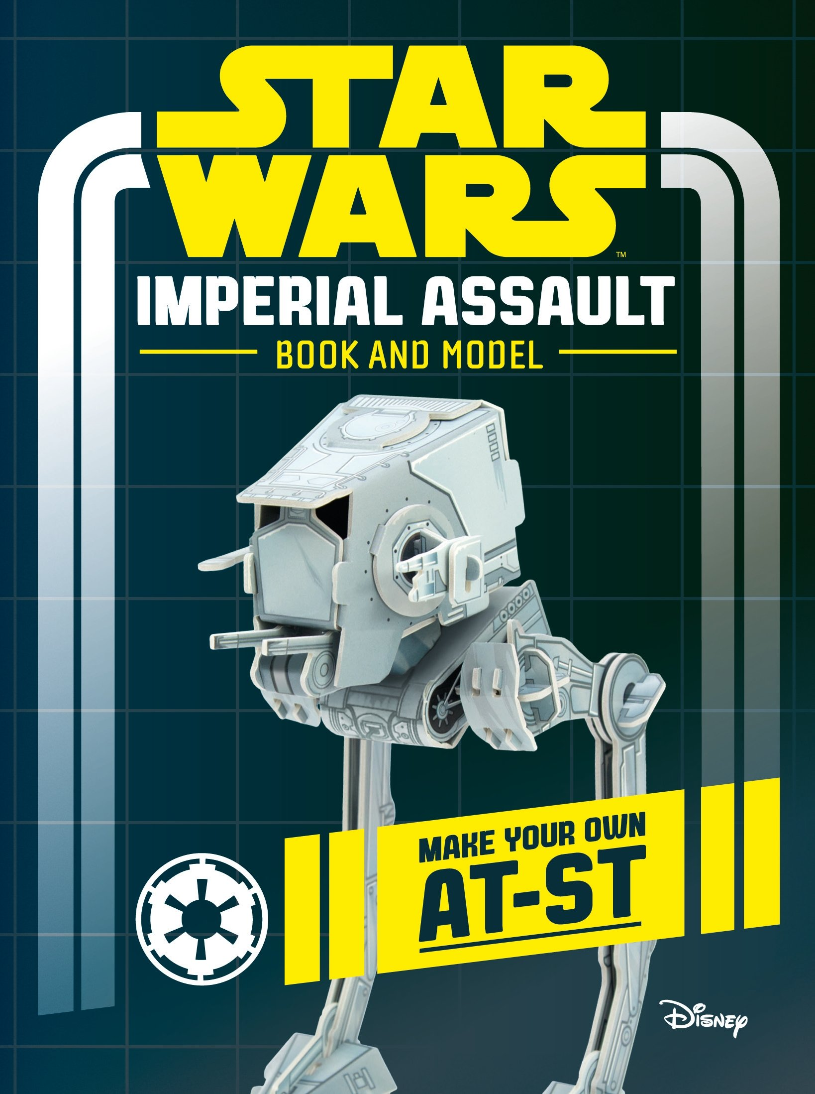 Star Wars Imperial Assault Book and Model: Make Your Own AT-ST