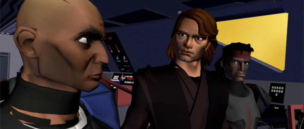 Star Wars The Clone Wars: A Distant Echo