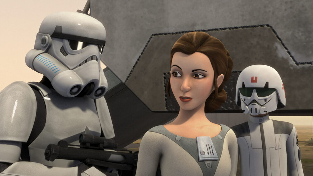 Star Wars Rebels: A Princess on Lothal