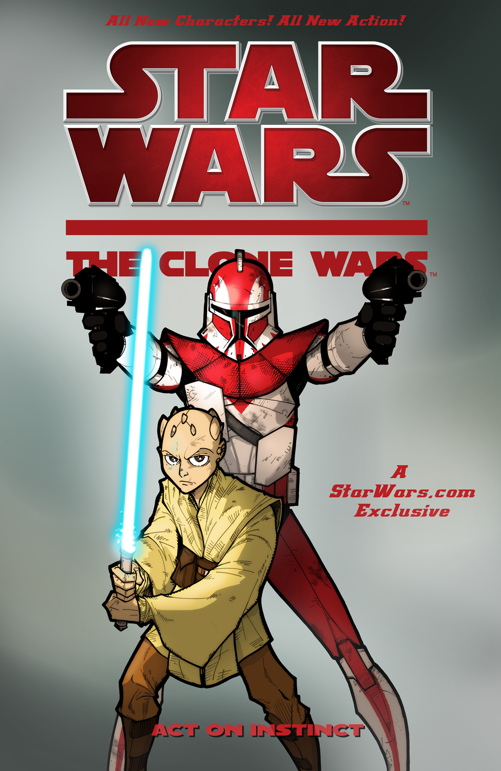 Star Wars The Clone Wars: Act on Instinct