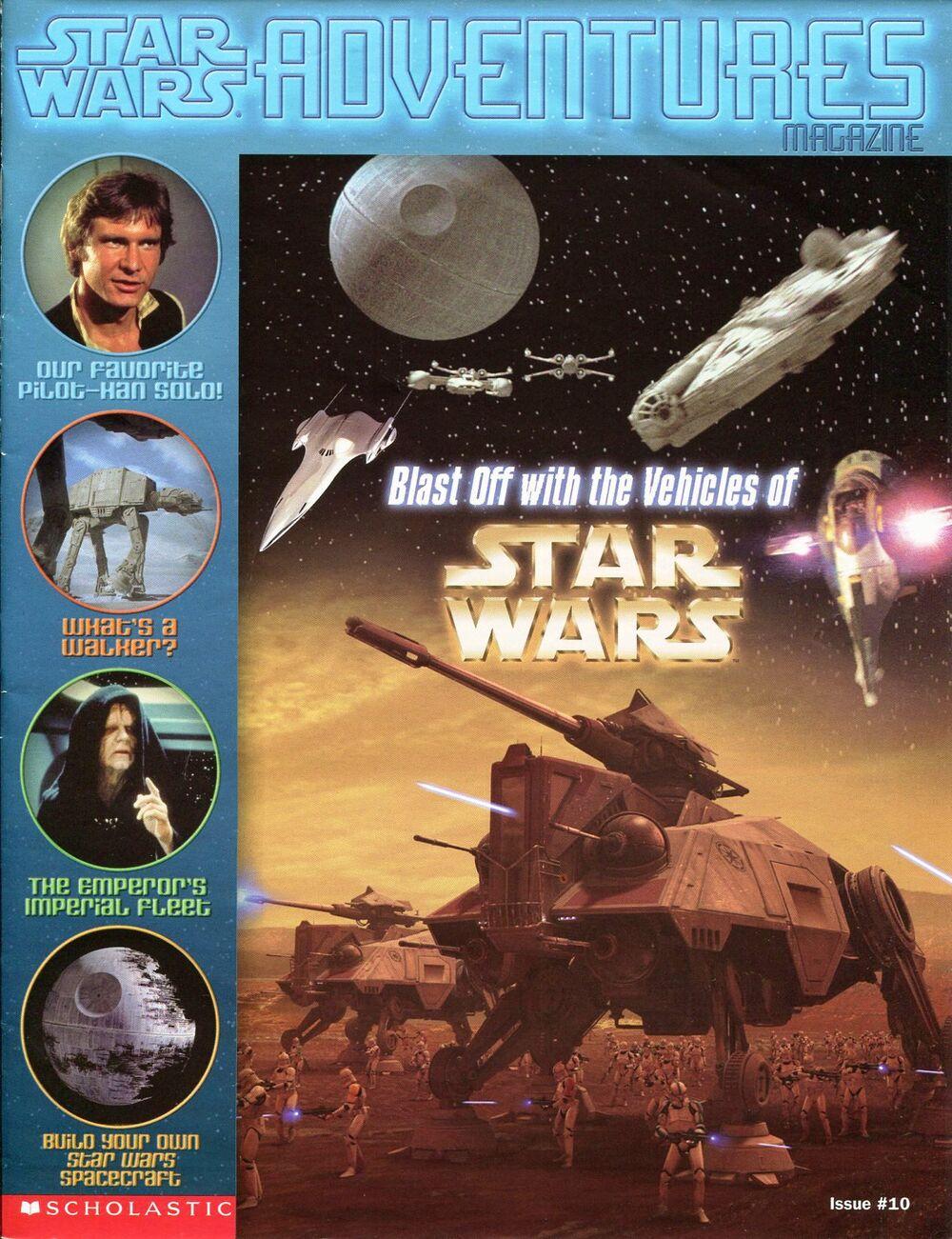 Star Wars Adventures Magazine 10