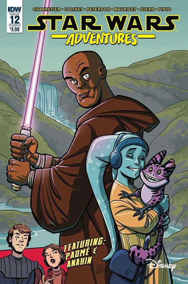 Star Wars Adventures 12 - Cover B (Alain Mauricet)