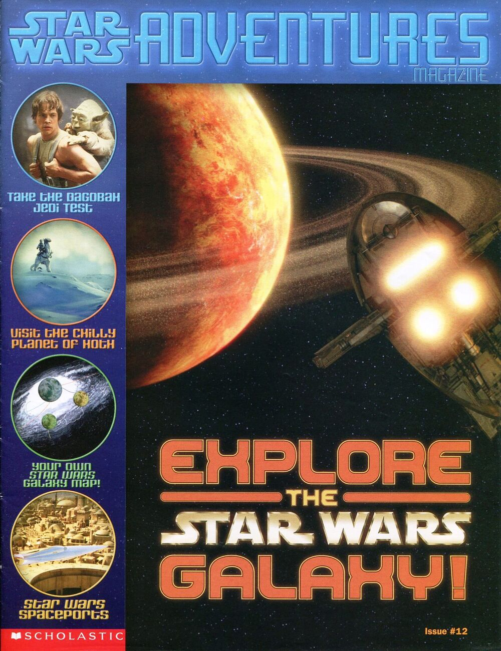 Star Wars Adventures Magazine 12
