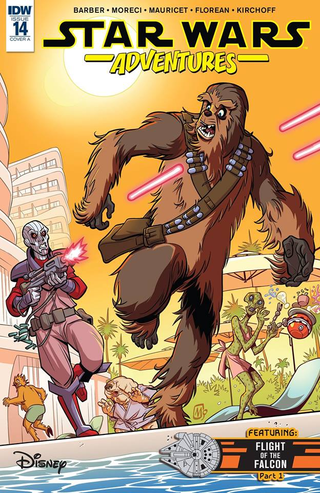 Star Wars Adventures: Chewie's Day Off