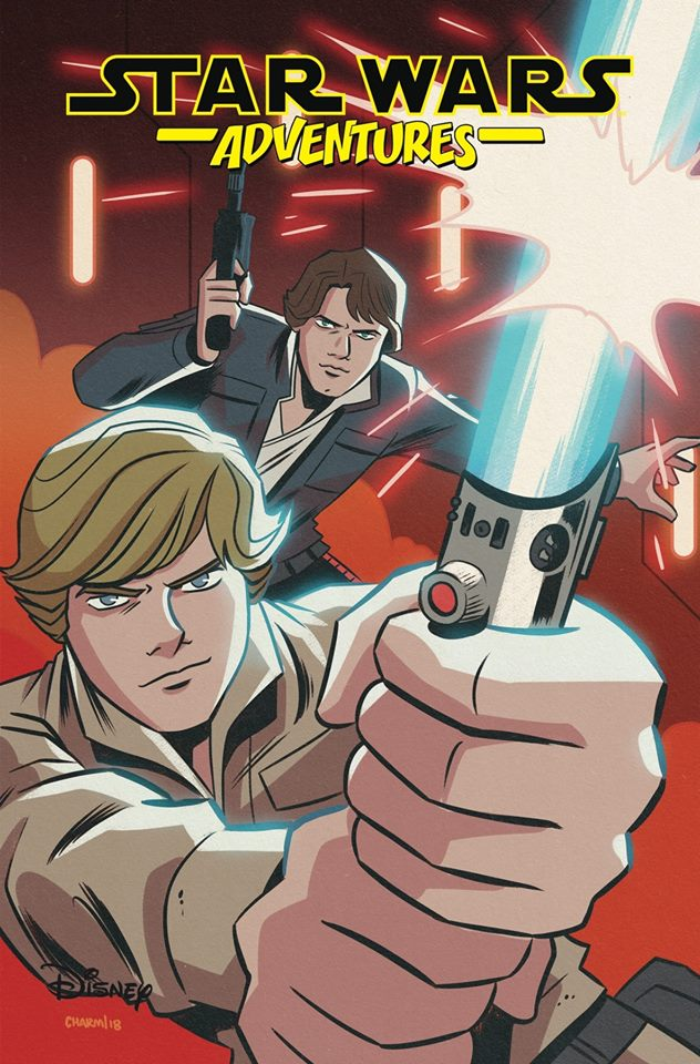 Star Wars Adventures 21 - Cover A (Derek Charm)