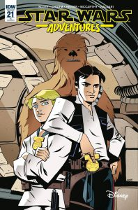 Star Wars Adventures 21 - Retail Incentive Cover (Michael Avon Oeming)