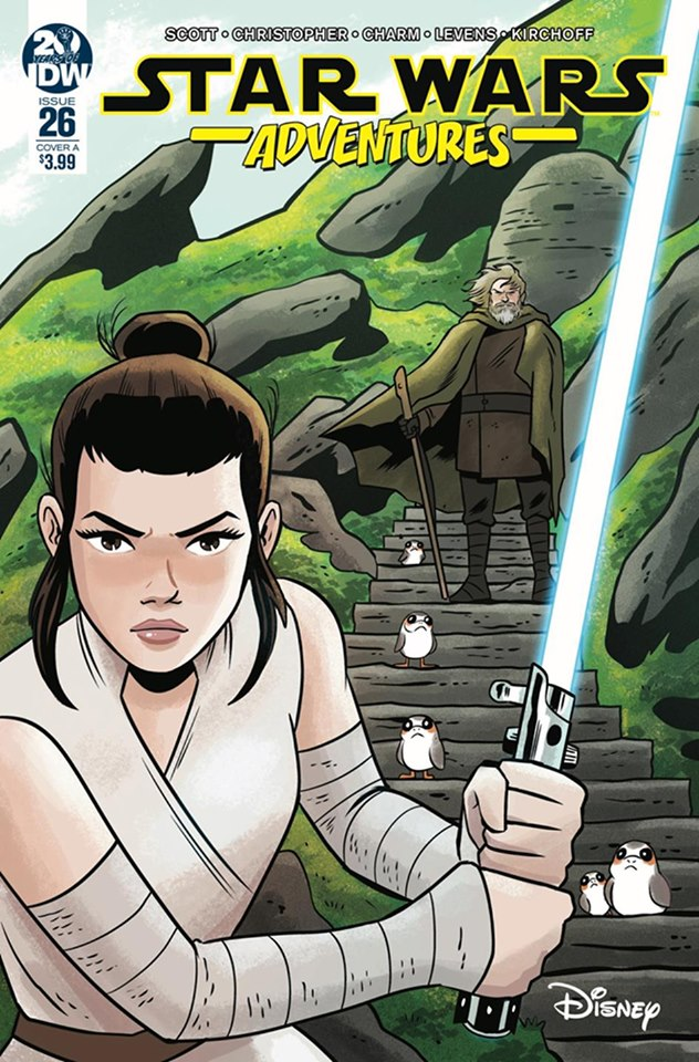 Star Wars Adventures 26 - Cover A Derek Charm