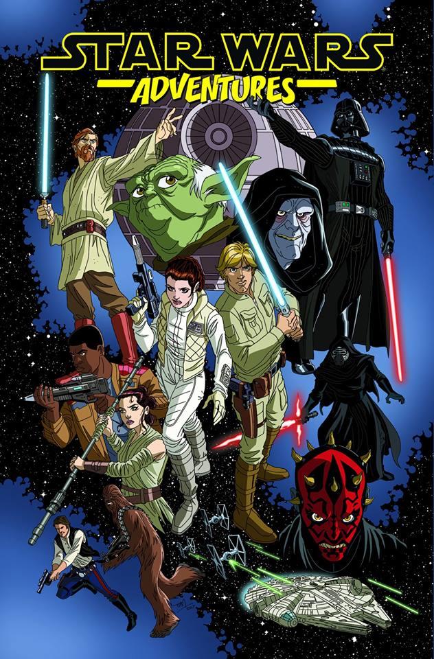 Star Wars Adventures Omnibus Volume 1
