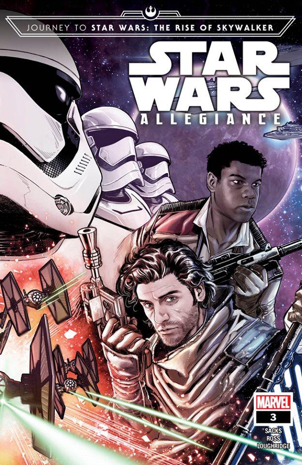Star Wars: Allegiance 3 - First Printing