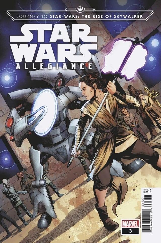 Star Wars: Allegiance 3 - Mike McKone Variant
