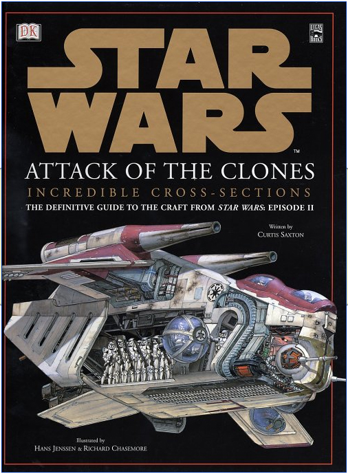 Star Wars Episode II: Attack of the Clones Incredible Cross Sections