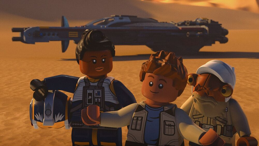 Lego Star Wars The Freemaker Adventures: Flight of the Arrowhead