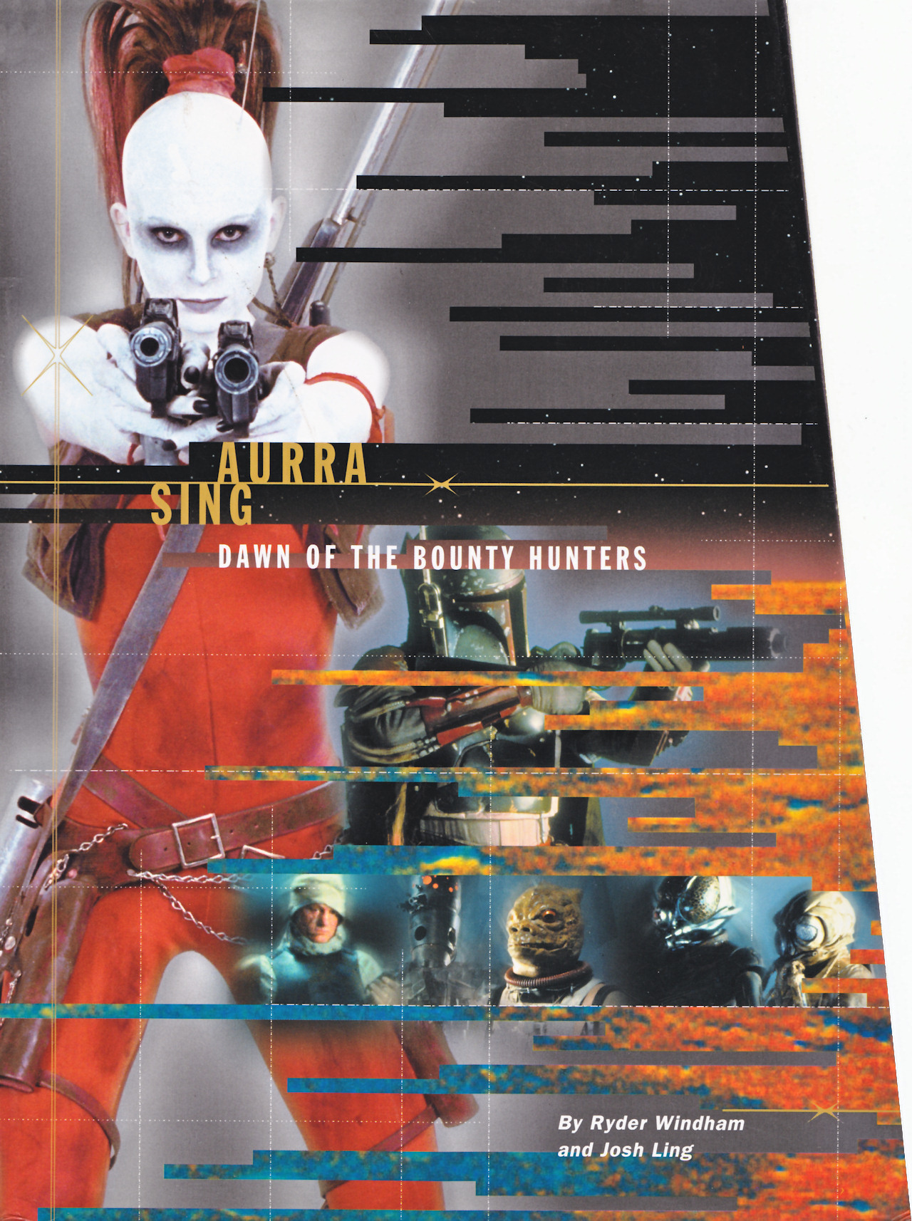 Star Wars Aurra Sing: Dawn of the Bounty Hunters