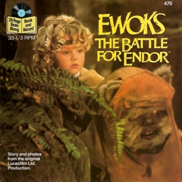 Ewoks: The Battle for Endor (Book and Record)