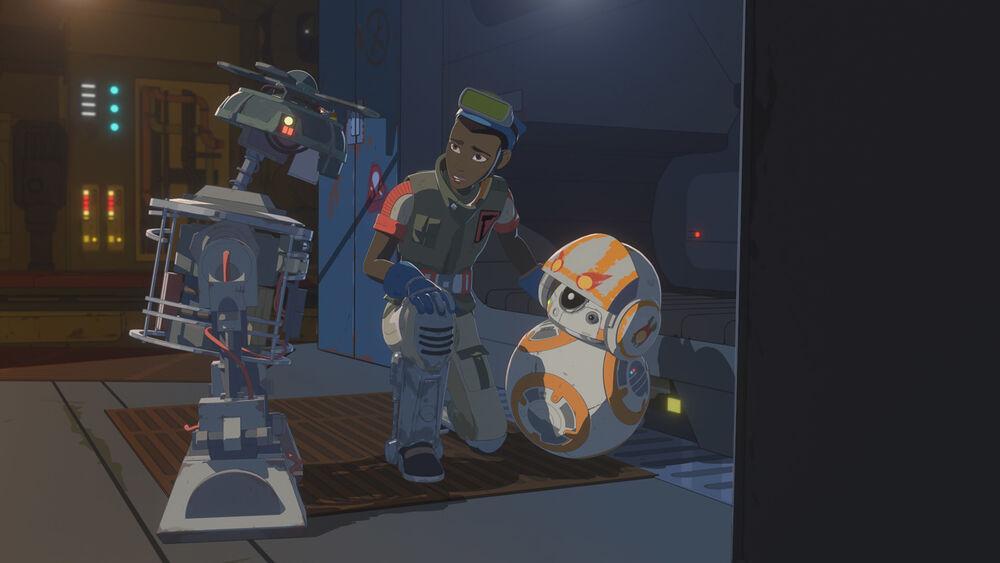 Star Wars Resistance: Bucket's Quest