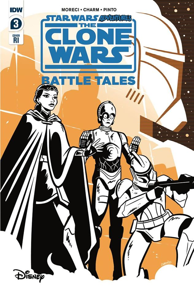 Star Wars Adventures: The Clone Wars Battle Tales 3 RI Charm