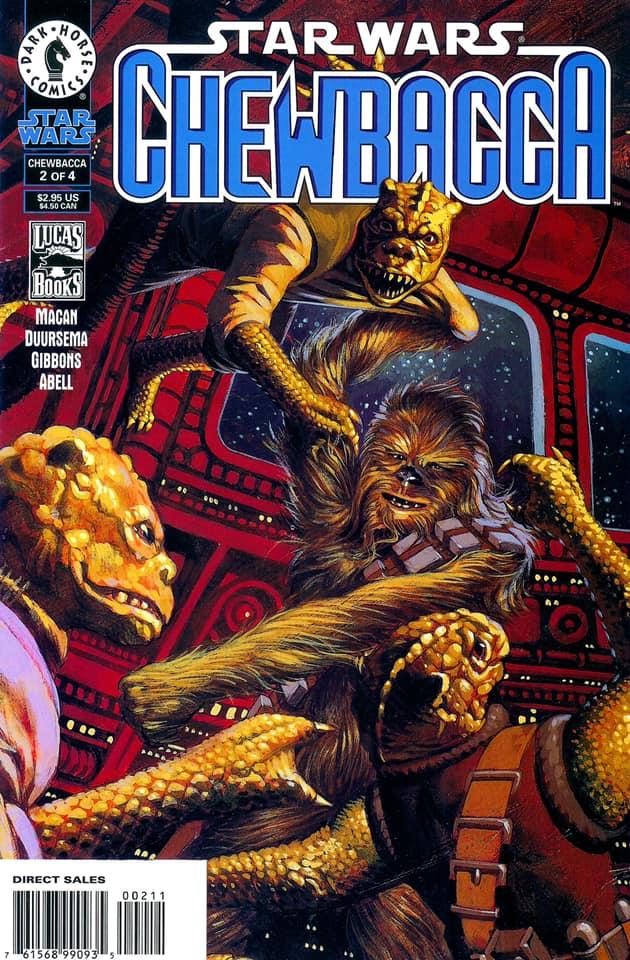 Star Wars Chewbacca (Dark Horse) 2