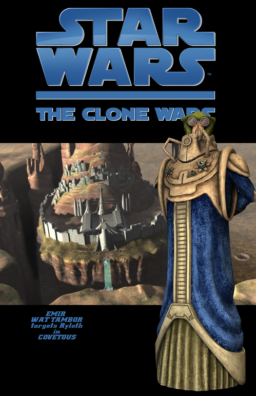 Star Wars The Clone Wars: Covetous