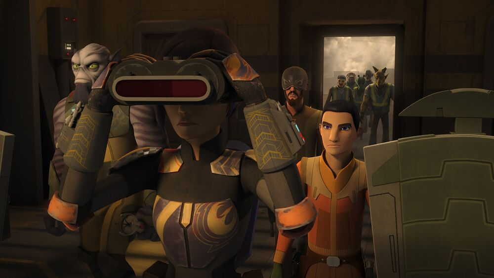 Star Wars Rebels: Crawler Commandeers