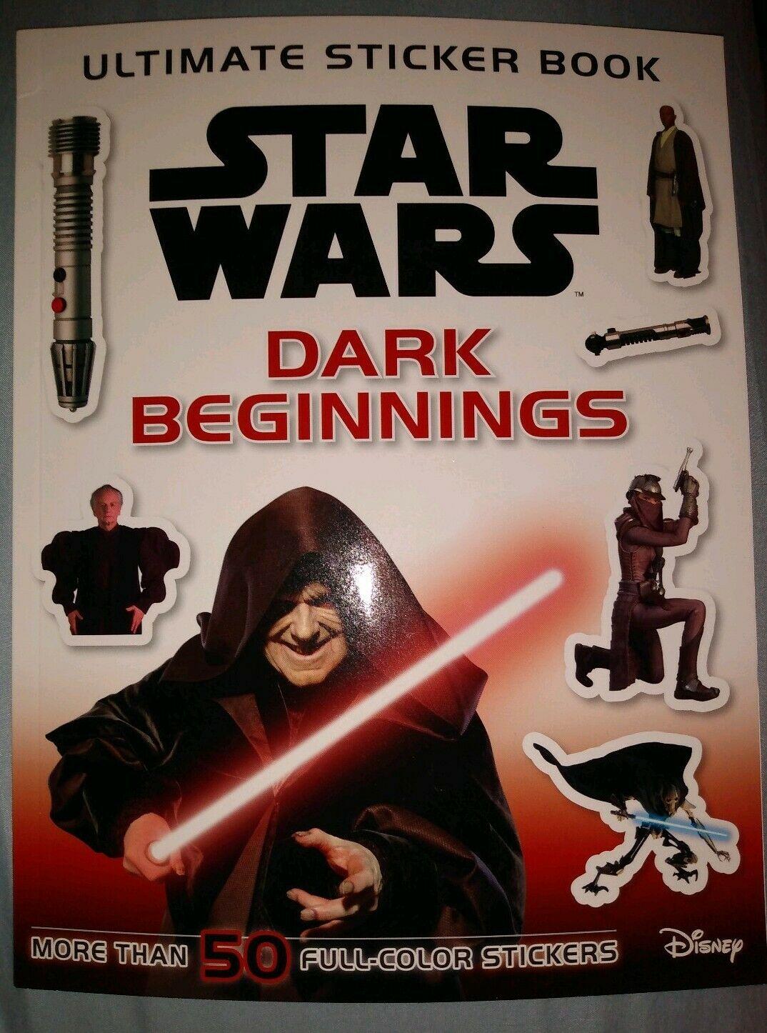 Star Wars Ultimate Sticker Book: Dark Beginnings