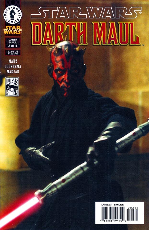 Star Wars: Darth Maul 2 (Photo Cover)